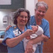 Shore Memorial Hospital Nurse Delivering the Next Generation